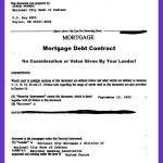 In Mortgage Debt?  Your Lender Stole Your Mortgage Note!